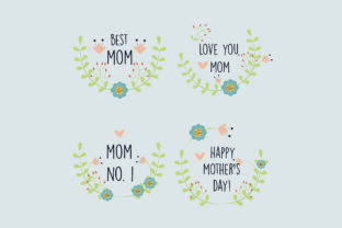 Download Free Mothers Day Collection Label Graphic By Aprlmp276 Creative Fabrica SVG Cut Files