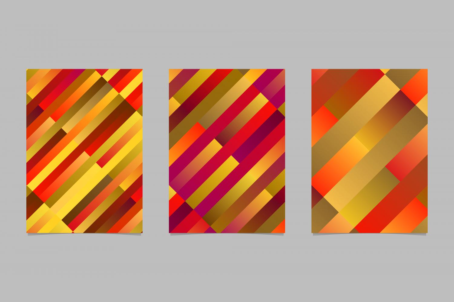 Download Free 3 Gradient Rectangle Page Backgrounds Graphic By Davidzydd for Cricut Explore, Silhouette and other cutting machines.