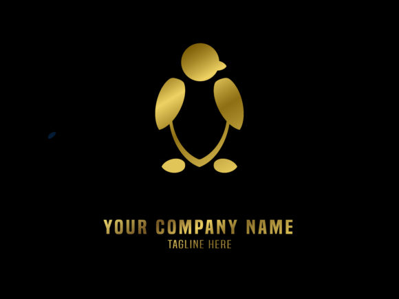 Download Free Abstract Logo Vector Gradient Penguin Graphic By Valiqaproject for Cricut Explore, Silhouette and other cutting machines.