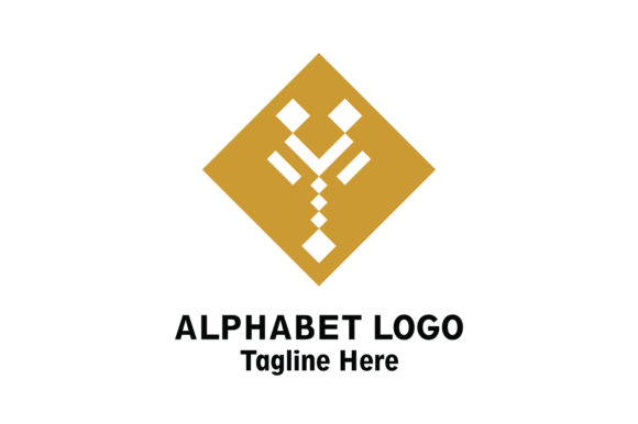 Download Free Alphabet Logo Vector Graphic By Yuhana Purwanti Creative Fabrica for Cricut Explore, Silhouette and other cutting machines.
