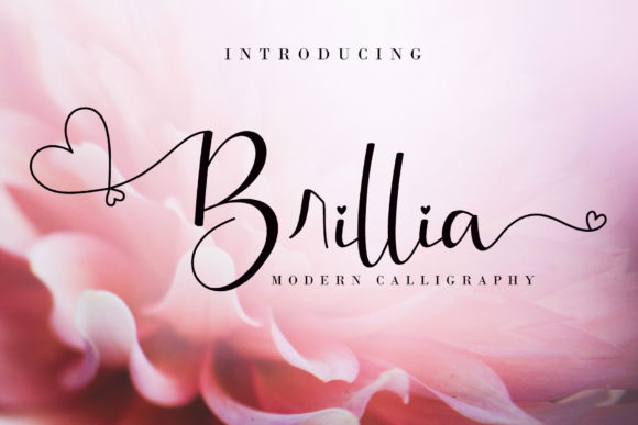 Print on Demand: Brillia Script & Handwritten Font By AEN Creative Studio