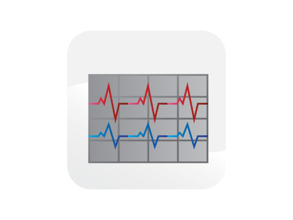 Download Free Ecg Electrocardiogram Icons Graphic By Samagata Creative Fabrica for Cricut Explore, Silhouette and other cutting machines.