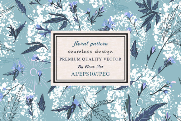 Elegant Rustic Vector Vintage Pattern Graphic Patterns By fleurartmariia