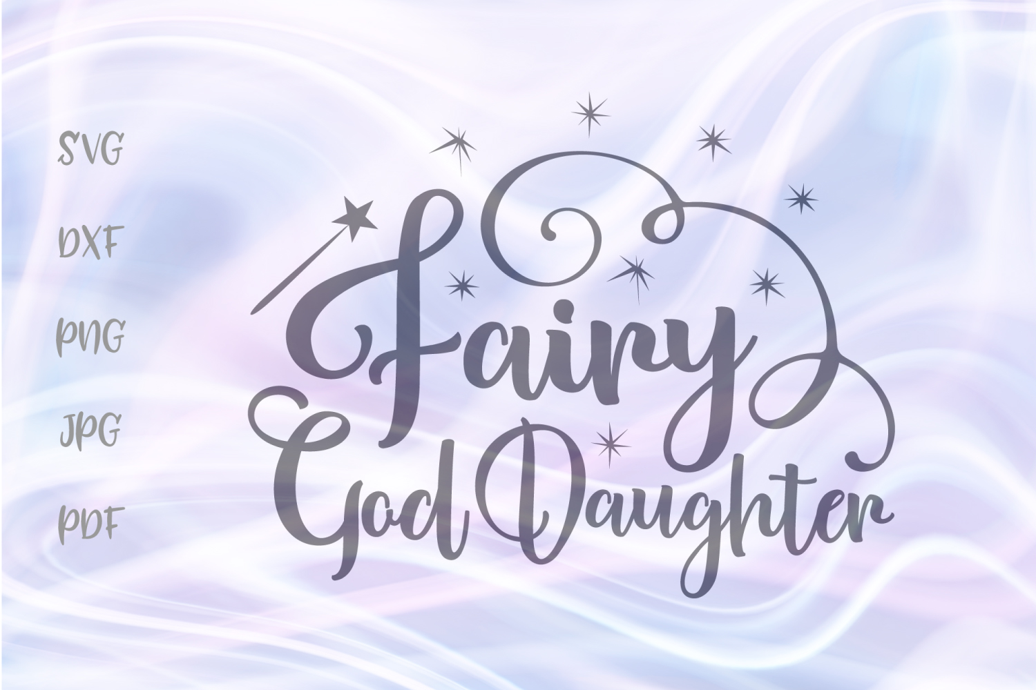 Download Free Fairy God Daughter For Cricut Vector Graphic By Digitals By for Cricut Explore, Silhouette and other cutting machines.