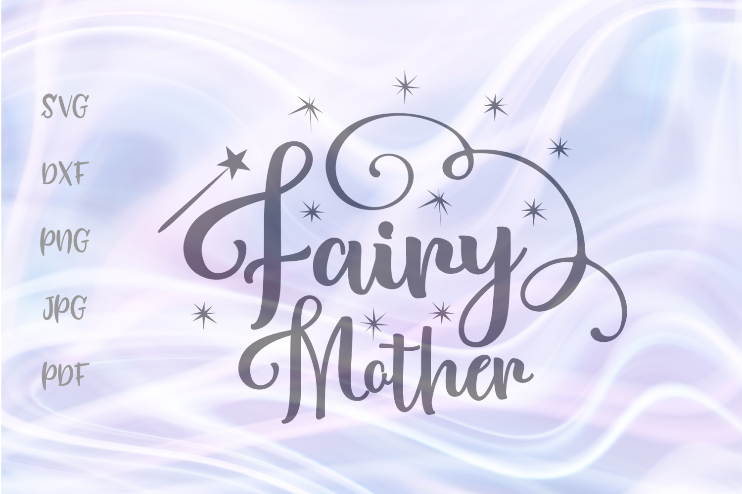 Download Free Fairy Mother For Cricut Vector Cut Graphic By Digitals By Hanna for Cricut Explore, Silhouette and other cutting machines.