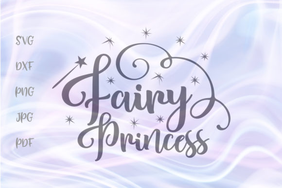 Print on Demand: Fairy Princess for Cricut Vector Cut Graphic Crafts By Digitals by Hanna