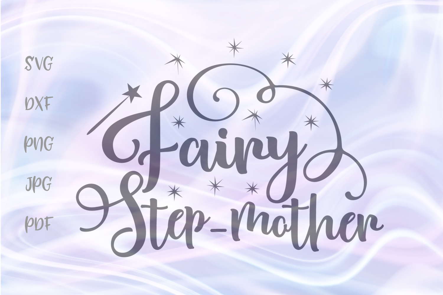 Download Free Fairy Step Mother For Cricut Vector Graphic By Digitals By Hanna for Cricut Explore, Silhouette and other cutting machines.