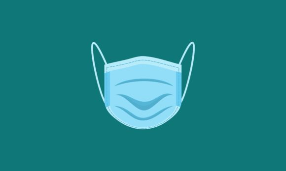 Flat Design Medical Mask Logo Concept Graphic By Deemka Studio
