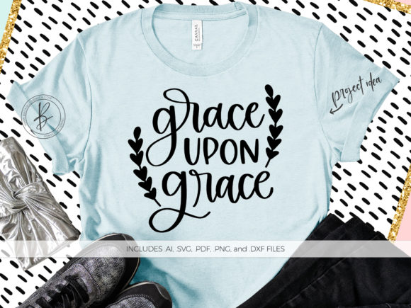 Grace Upon Grace Graphic By Beckmccormick Creative Fabrica