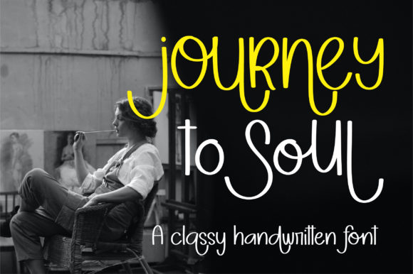 Print on Demand: Jorney to Soul Display Font By BitongType