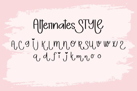 Print on Demand: Jorney to Soul Display Font By BitongType - Image 2