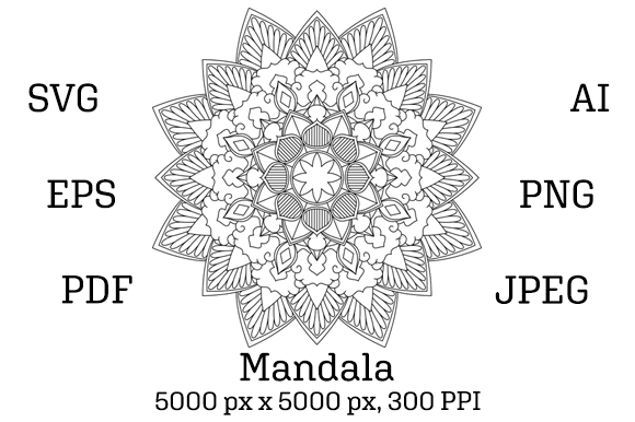Download Free Mandala 03 Graphic By Pod Emporium Creative Fabrica for Cricut Explore, Silhouette and other cutting machines.