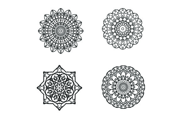 Download Free Mandala Graphic By Studioluckee Creative Fabrica for Cricut Explore, Silhouette and other cutting machines.