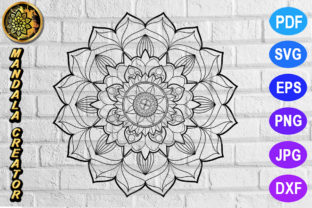 Print on Demand: Mandala Monogram Entangle 3 Graphic Coloring Pages & Books Adults By V-Design Creator