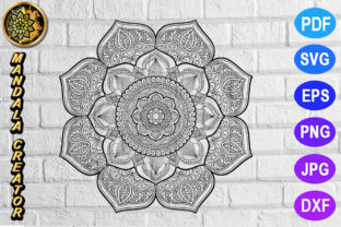 Print on Demand: Mandala Monogram Entangle 17 Graphic Coloring Pages & Books Adults By V-Design Creator