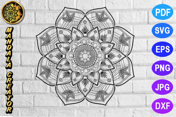 Print on Demand: Mandala Monogram Entangle 20 Graphic Coloring Pages & Books Adults By V-Design Creator