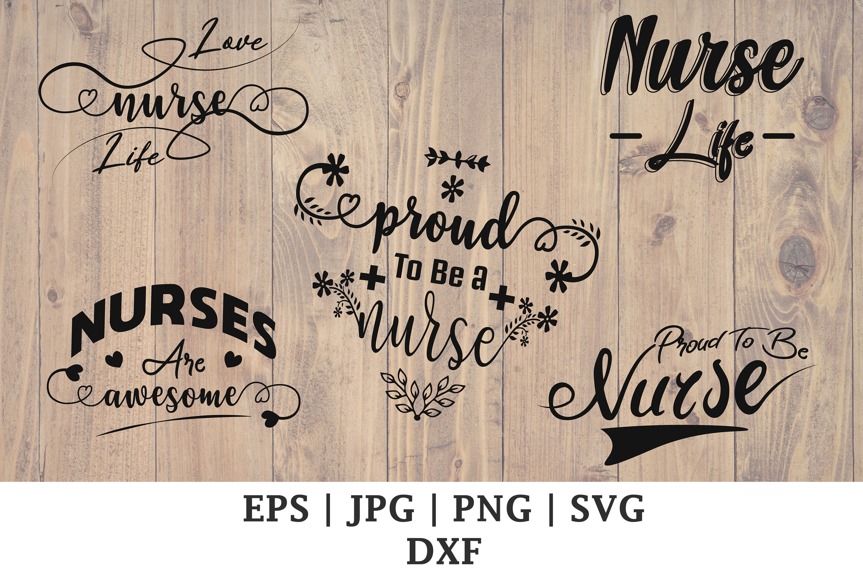 Nurse Life Cutting File Bundle Graphic By Damasyp Creative Fabrica