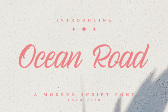 Print on Demand: Ocean Road Script & Handwritten Font By Pen Culture