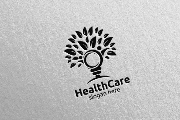 Download Free Organic Health Care Medical Logo 30 Graphic By Denayunecf for Cricut Explore, Silhouette and other cutting machines.