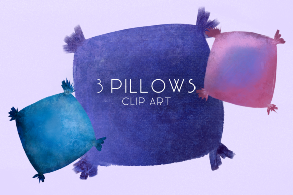 Print on Demand: Pillows, Home House Cosy, Cute Furniture Graphic Illustrations By Inkclouddesign