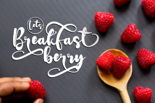 Print on Demand: Redberry Display Font By Rusd studio 2
