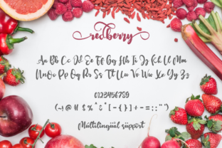 Print on Demand: Redberry Display Font By Rusd studio 7