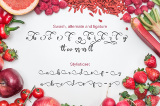 Print on Demand: Redberry Display Font By Rusd studio 8
