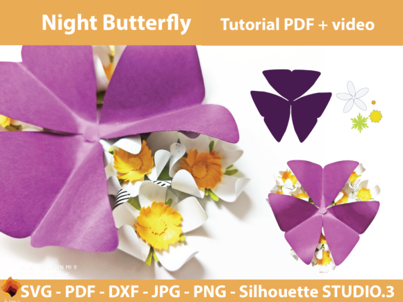 Download Free 1 Flower Svg Template Designs Graphics for Cricut Explore, Silhouette and other cutting machines.