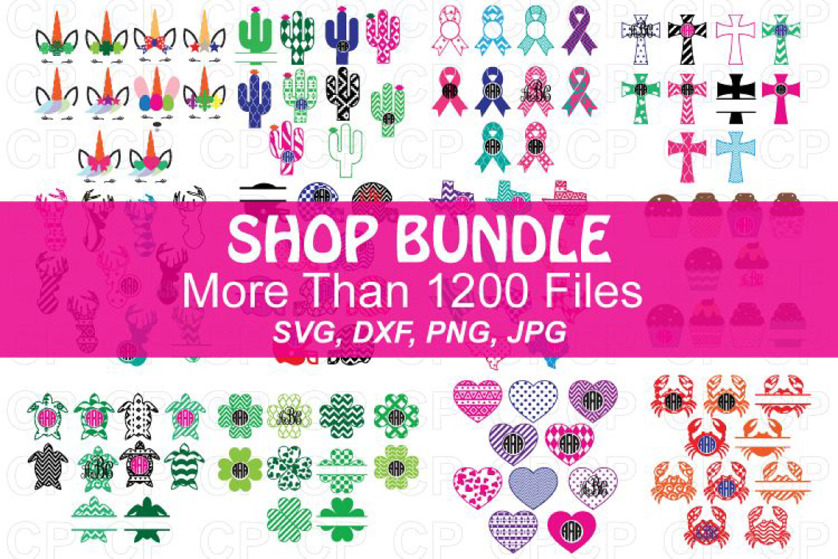 Download Free Shop Bundle Svg Monogram Frame Bundle Bundle Creative Fabrica for Cricut Explore, Silhouette and other cutting machines.