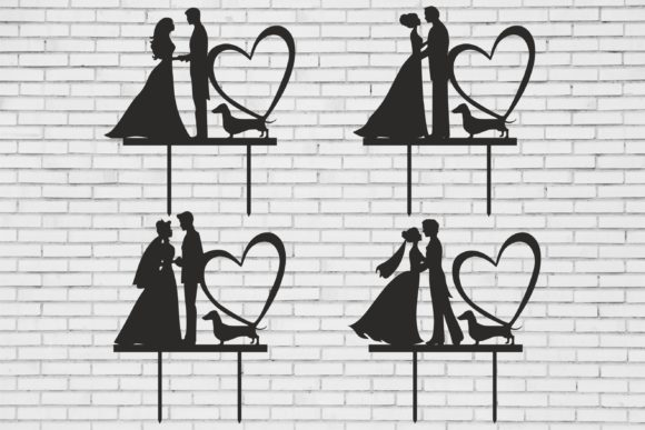 Wedding Toppers, Wedding Decor Graphic Product Mockups By Fast Store