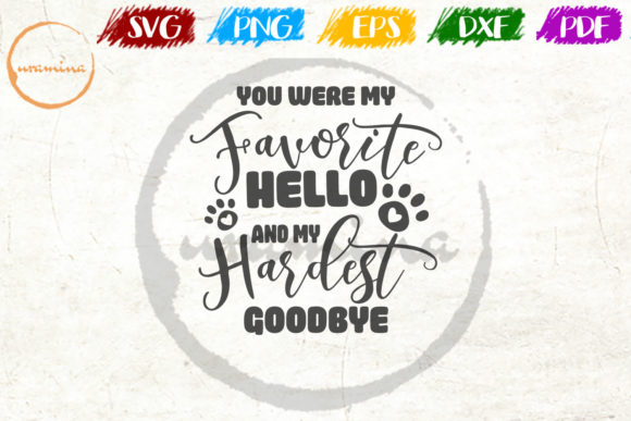 Download Free You Were My Favorite Hello Graphic By Uramina Creative Fabrica for Cricut Explore, Silhouette and other cutting machines.
