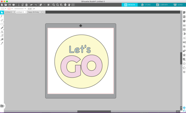 how to cut by color layers in Silhouette Studio