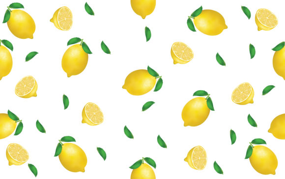 Lemon Seamless Pattern Graphic Patterns By ngabeivector