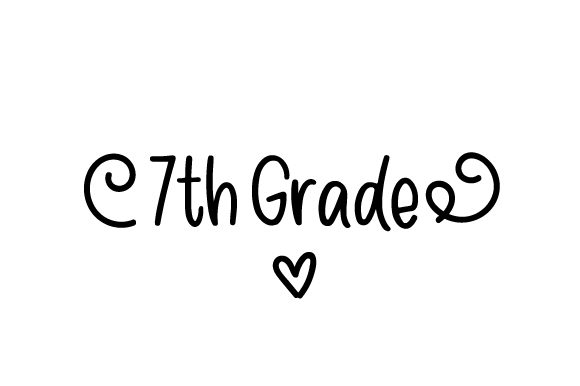 Download Free 7th Grade Svg Cut File By Creative Fabrica Crafts Creative Fabrica for Cricut Explore, Silhouette and other cutting machines.