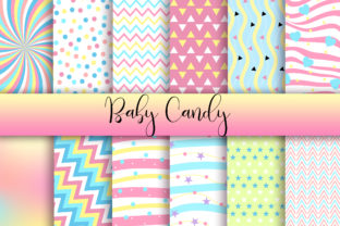 Baby Candy Background Digital Papers Graphic Backgrounds By PinkPearly