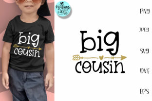 Big Cousin Cousin Shirt Graphic By Midmagart Creative Fabrica