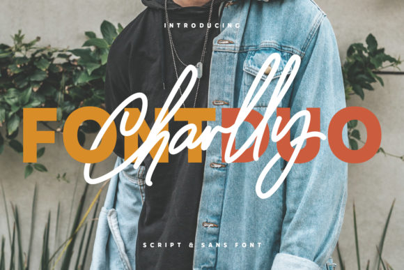Print on Demand: Charlly Display Font By Maulana Creative