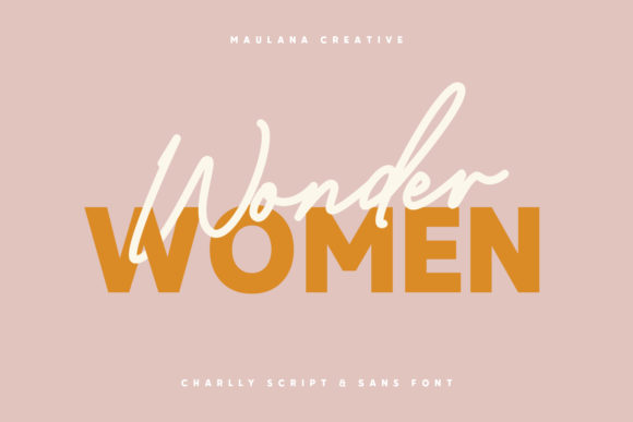 Download Free Charlly Font By Maulana Creative Creative Fabrica for Cricut Explore, Silhouette and other cutting machines.