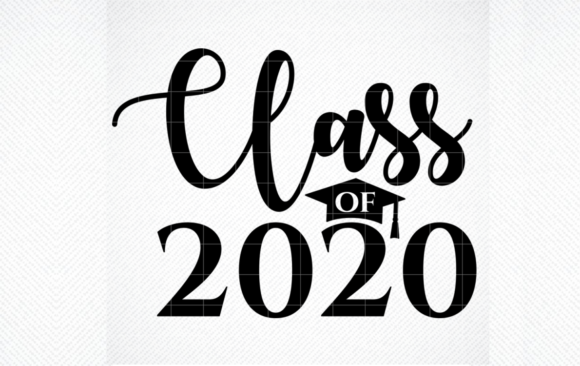 Download Free Class Of Twenty Twenty 2020 Graduation Graphic By Svg Den for Cricut Explore, Silhouette and other cutting machines.