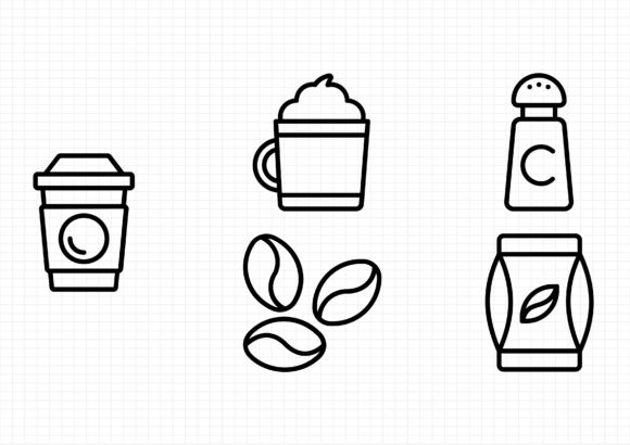 Download Free 30 Barista Designs Graphics for Cricut Explore, Silhouette and other cutting machines.