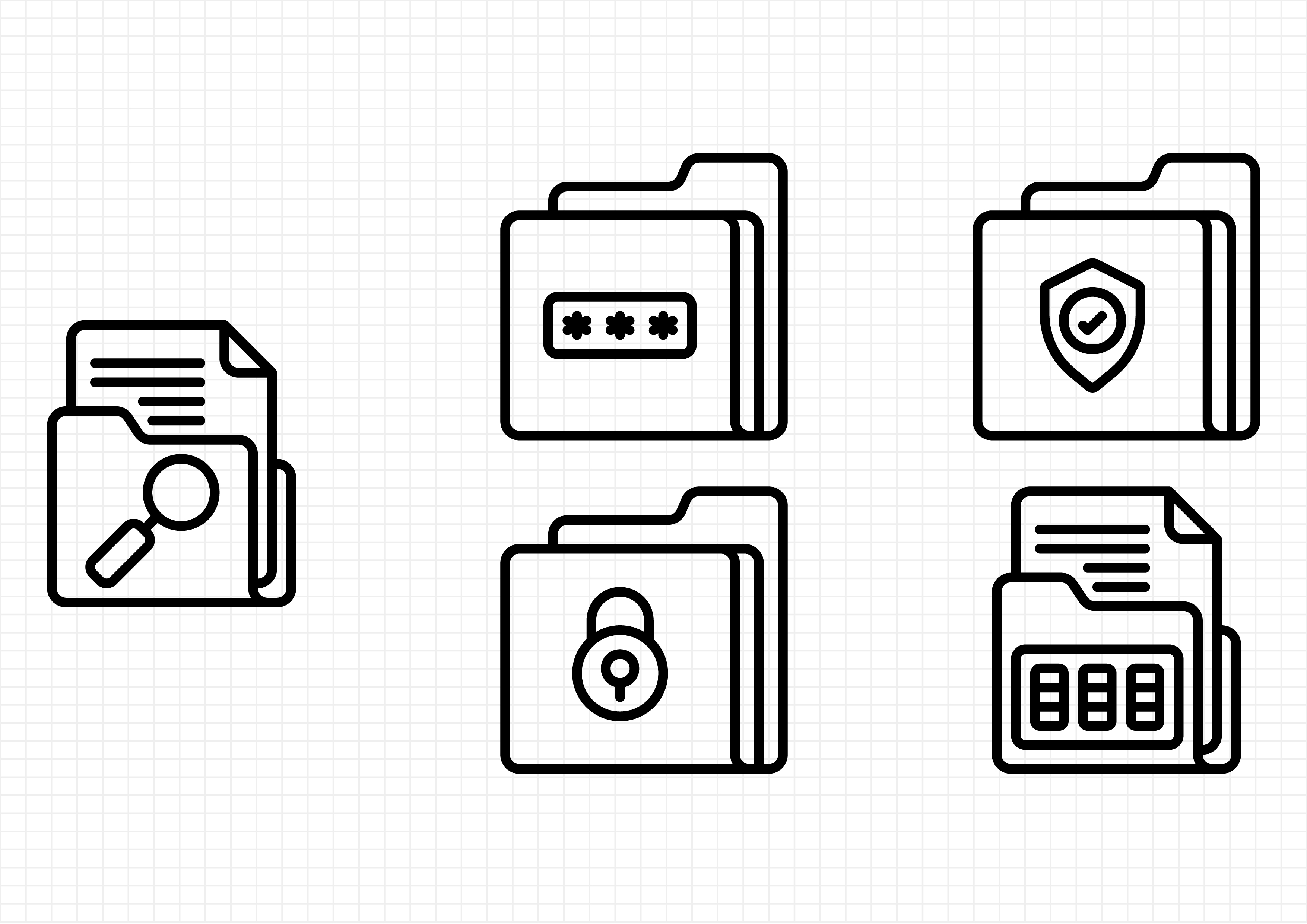 Download Free Data Security Graphic By Beryladamayu Creative Fabrica for Cricut Explore, Silhouette and other cutting machines.