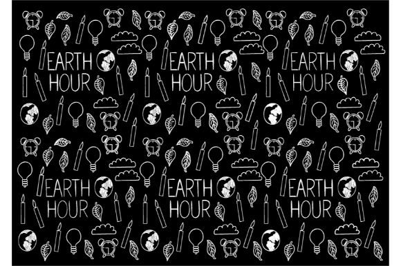 Download Free Earth Hour Doodle Vector Art Graphic By Firdausm601 Creative for Cricut Explore, Silhouette and other cutting machines.