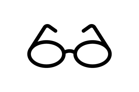 Eyeglasses and Sunglasses Icons Black Graphic Icons By deniprianggono78