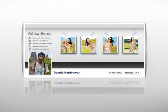 Download Free Facebook Timeline Cover Graphic By Ciusan Creative Fabrica SVG Cut Files