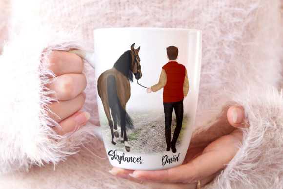 Couples and Horses Graphic Illustrations By LeCoqDesign - Image 6