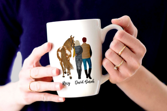 Couples and Horses Graphic Illustrations By LeCoqDesign - Image 7