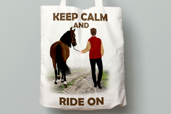 Couples and Horses Graphic Illustrations By LeCoqDesign - Image 8