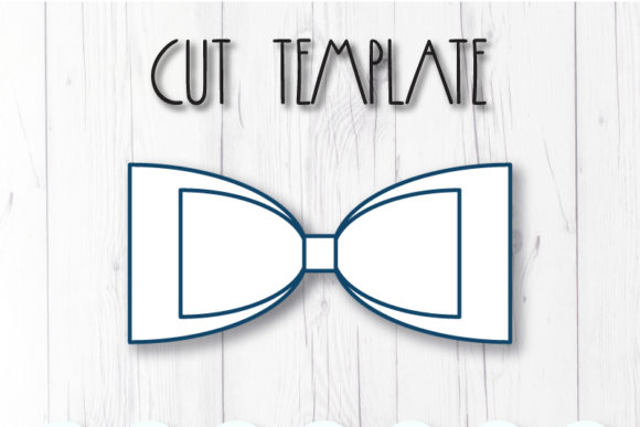 Download Free Hair Bow Template Graphic By Articuties Creative Fabrica for Cricut Explore, Silhouette and other cutting machines.