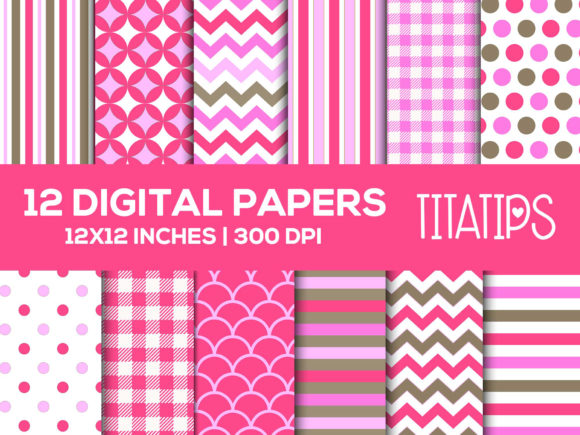 Download Free Pineapple Digital Papers Set Graphic By Titatips Creative Fabrica for Cricut Explore, Silhouette and other cutting machines.
