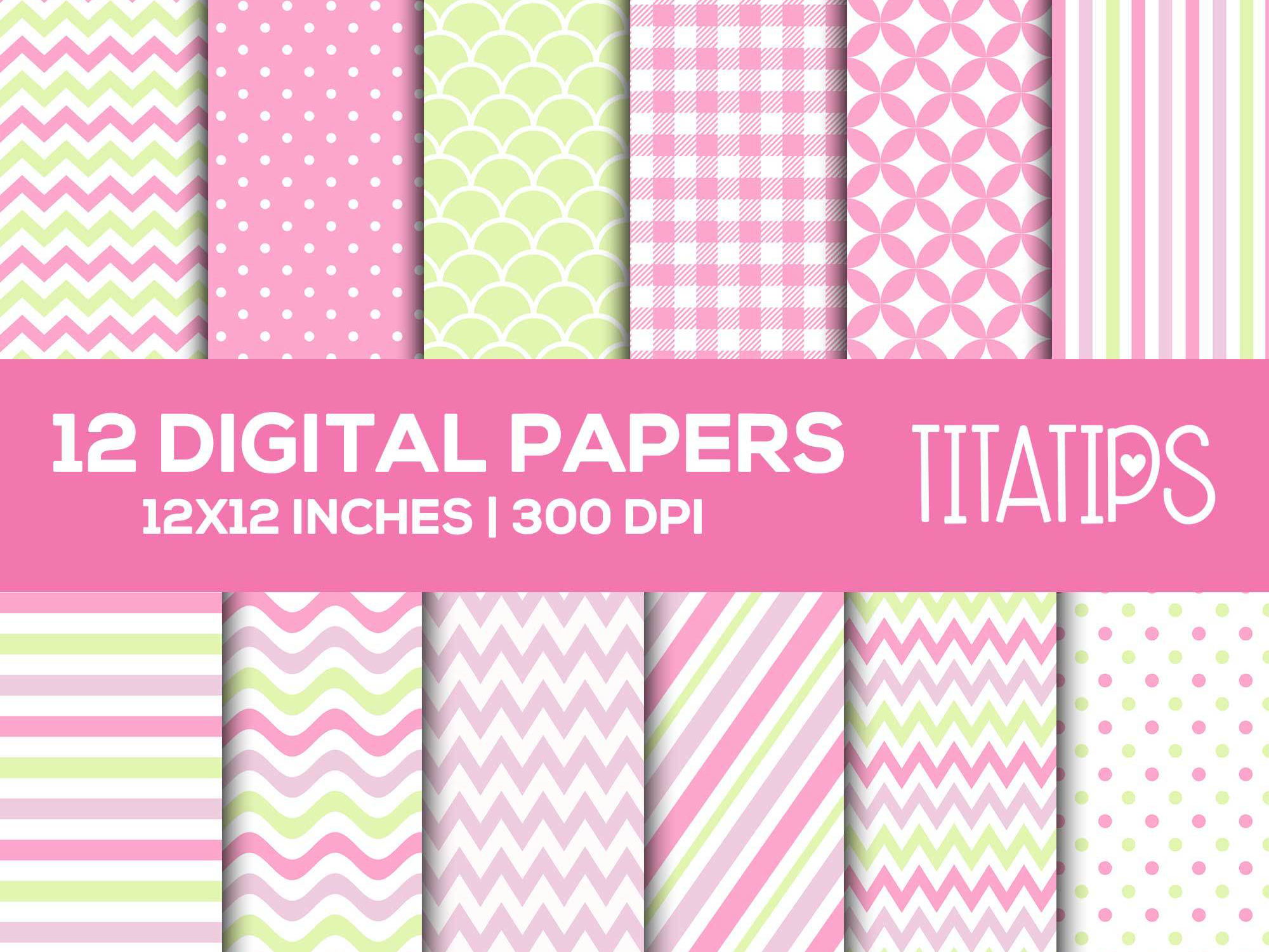 Download Free Happy Mother S Day Digital Papers Set Graphic By Titatips SVG Cut Files